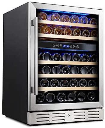 Kalamera Dual Zone Wine Cooler Reviews