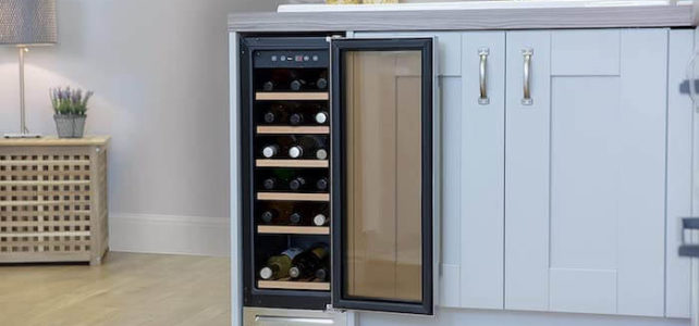 Install built in wine cooler